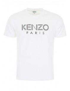 Kenzo camiseta para hombre logo - blanca