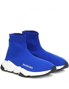 Zapatillas retro speed runer - blue/white