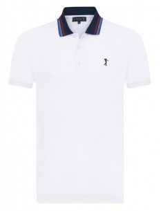 Polo Sir Raymond Tailor SEED para hombre color blanco