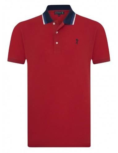 Polo Sir Raymond Tailor SEED para hombre color rojo