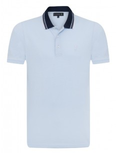 Polo Sir Raymond Tailor SEED para hombre color azul celeste