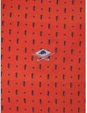 Polo Sir Raymond Tailor estampado para hombre - naranja