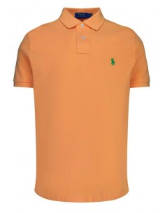 Polo manga corta small pony - Naranja