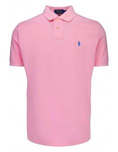 Polo manga corta small pony - rosa claro