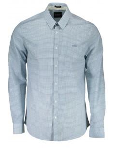 Camisa Guess para hombre con estampado fantasía - azul