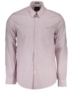 Camisa Guess para hombre con estampado fantasía - roja