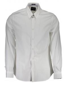 Camisa Guess para hombre modelo collins - blanca