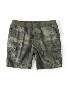 Bermudas de AF con bolsillos cargo y cintura elástica - camo