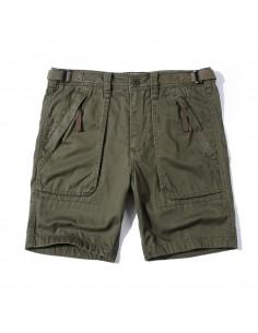 Bermudas de AF con bolsillos cargo para hombre - kaki