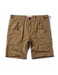 Bermudas de AF con bolsillos cremallera para hombre - beige