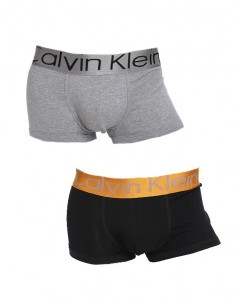 Calvin Klein pack 2 boxers - black/grey