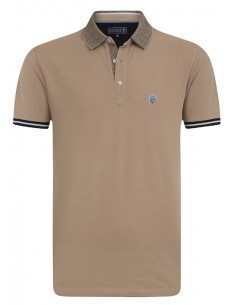 Polo Sir Raymond Tailor para hombre - marron claro