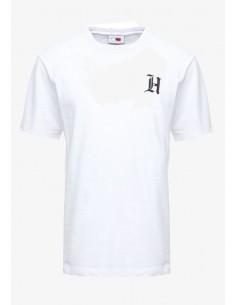 Camiseta Tommy para hombre logo - blanca