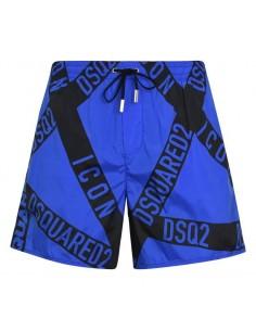 Bañador dsquared logomania - blue
