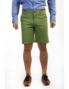 Time of Bocha bermudas para hombre color verde