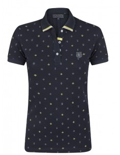 Polo Sir Raymond Tailor estampado para mujer - navy/green