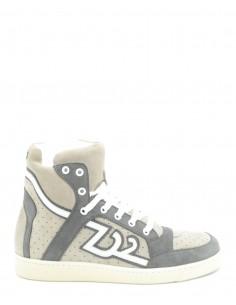 Zapatillas Dsquared basket - blancas