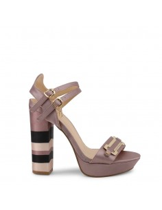 Sandalias Laura Biagiotti modelo Satin para mujer color rosa