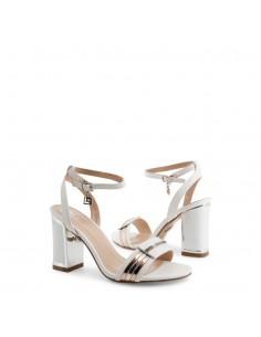 Sandalias Laura Biagiotti modelo Calf para mujer color blanco