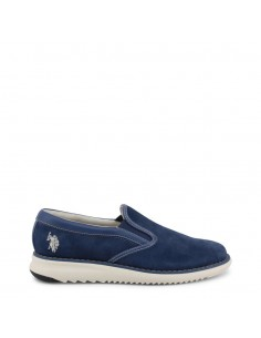 Zapatos Slip-on U.S. Polo para hombre color tejano
