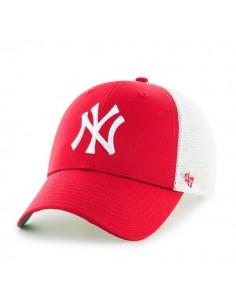 Gorra 47 Brand unisex - Trucker rojo y blanco