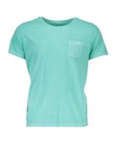 Gant - camiseta bolsillo hombre verde