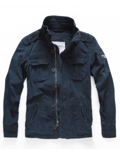 Abercrombie chaqueta para hombre sentinel - navy