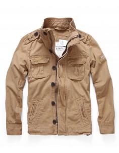 Abercrombie chaqueta para hombre sentinel - marrón claro