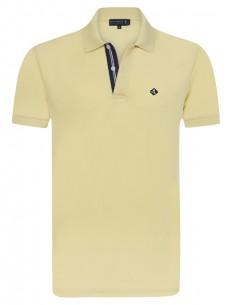 Polo Sir Raymond Tailor para hombre con detalles - amarillo
