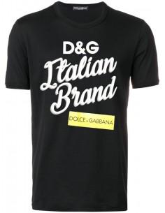 Camiseta Dolce & Gabbana para hombre negra
