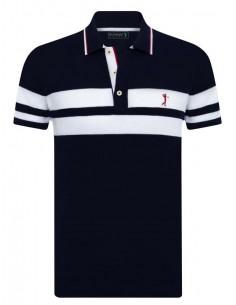 Polo Sir Raymond Tailor para hombre special edition - marino y blanco
