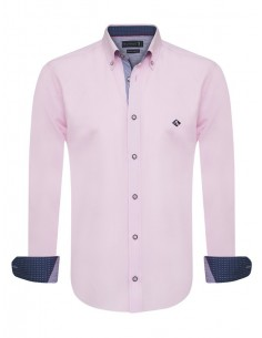 Sir Raymond Tailor camisa para hombre WRAPPED - rosa
