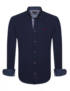 Sir Raymond Tailor camisa para hombre WRAPPED - navy