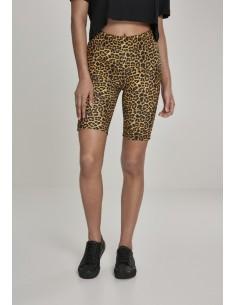 Pantalón corto Urban Classics para mujer - leopardo
