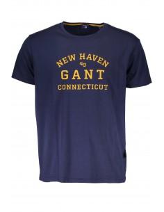 Gant - camiseta vintage hombre marino