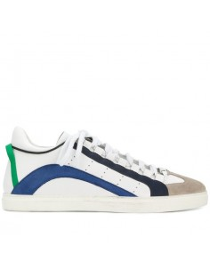 Zapatillas Dsquared 551 para hombre - blancas/azul