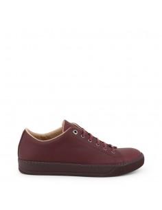 Lanvin zapatillas para hombre - piel Burdeos