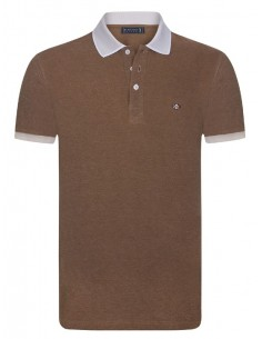 Polo Sir Raymond Tailor para hombre - marron