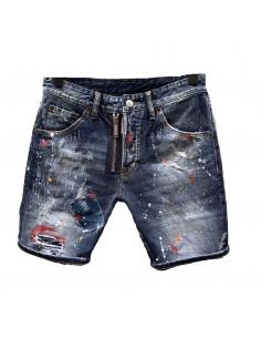 Dsquared shorts parchwork - blue