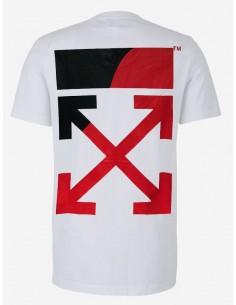 Off White camiseta para hombre - blanca