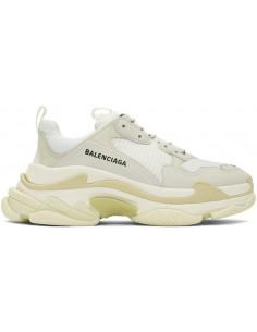 Balenciaga zapatillas triple S - blancas