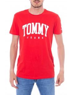 Camiseta Tommy para hombre logo - roja