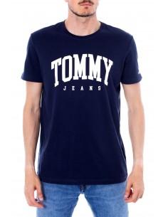 Camiseta Tommy para hombre logo - marino