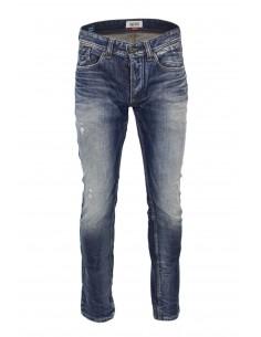 Tommy pantalón vaquero para hombre slim fit washed