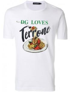 Camiseta Dolce & Gabbana para hombre blanca