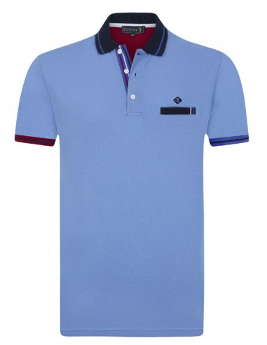 Polo Sir Raymond Tailor para hombre P67 - azul