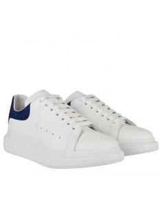Zapatillas McQueen unisex oversized white/navy