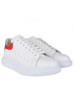 Zapatillas McQueen unisex oversized white/red