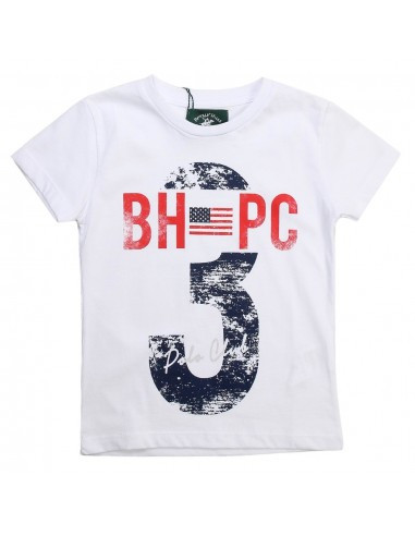Beverly hills polo club - camiseta niño estampada