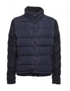 Tommy Hilfiger chaquete combinada plumón para hombre - marino